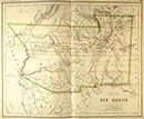 New Mexico Territory Map
