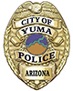 Yuma Police Department Badge