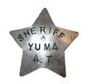 Arizona Territory Sheriff's Badge